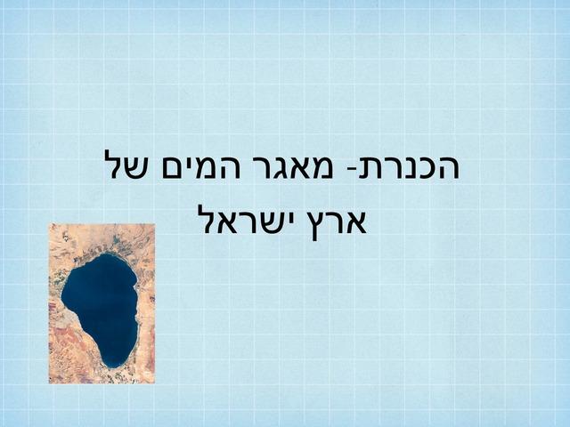 הכנרת מאגר המים של ארץ ישראל by מכללה תלפיות