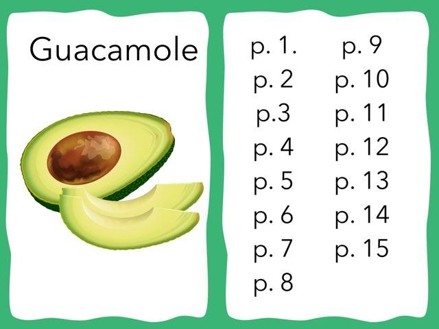 Guacamole by Emily Urquizo