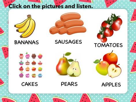 LET'S LEARN FOOD by Mª Pilar Martí