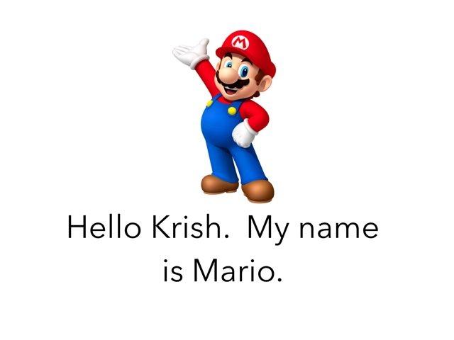 Mario by Joy Wilson