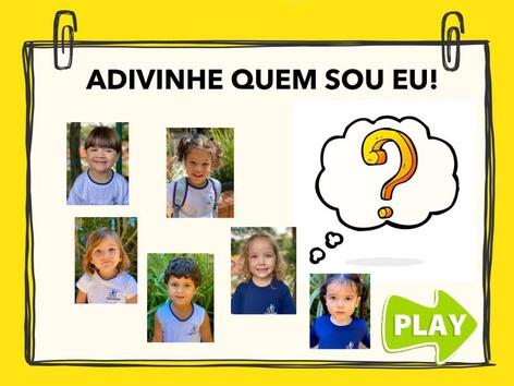ADIVINHE QUEM SOU EU! by Aline Oliveira