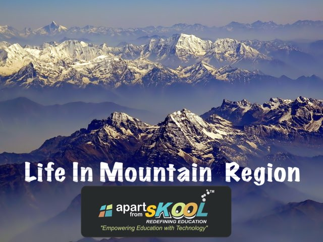 Life In Mountain Region by TinyTap creator