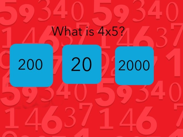 Magnificent Maths Quiz by Y6 Northway