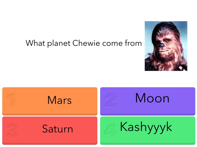 Star Wars Quiz by Avery Leung