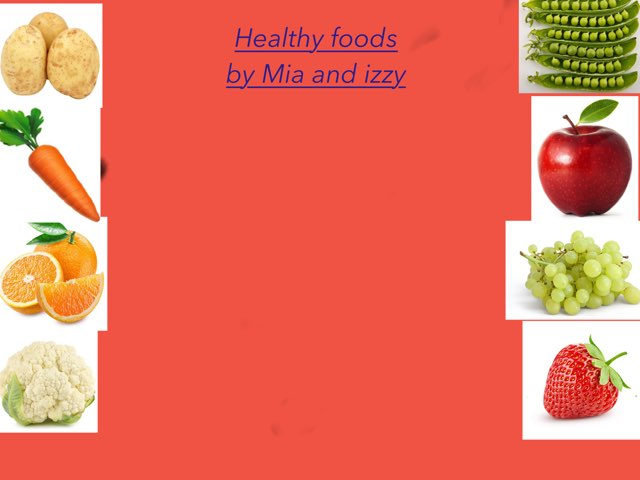 Healthy Food Game Mia And Izzy By Barnston Primary Educational Games For Kids On Tinytap