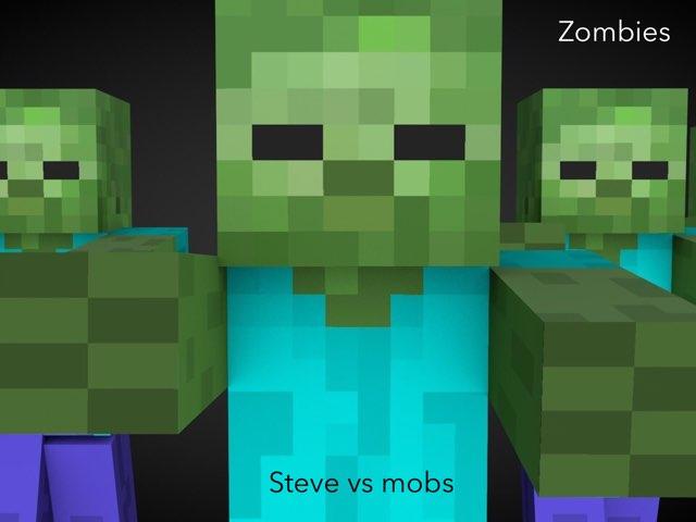 Steve Vs Mobs Teaser 2 by Martha Silva