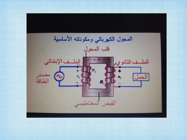 أشكال المحول  by Maha Hassan