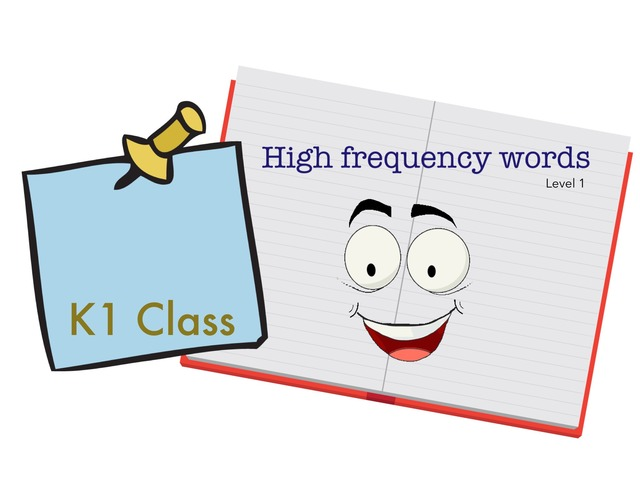 High Frequency Words Level 2 K1  by Suhaila Natasha
