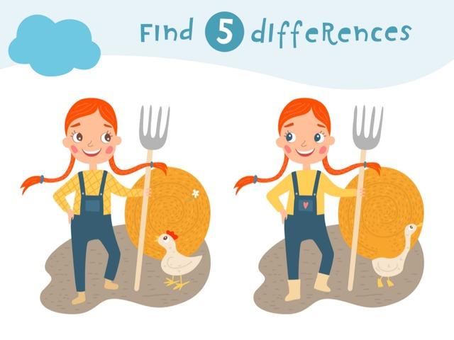 5 Farkı Bul - Çiftlikte by Hadi  Oyna