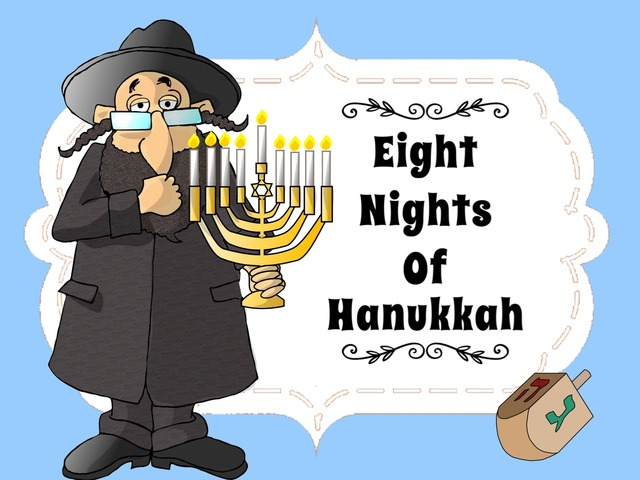 8 Nights Of Hanukkah by Ellen Weber