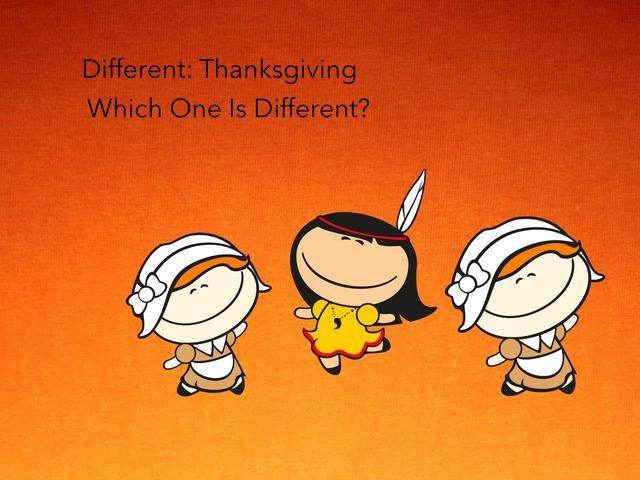 Different: Thanksgiving  by Carol Smith