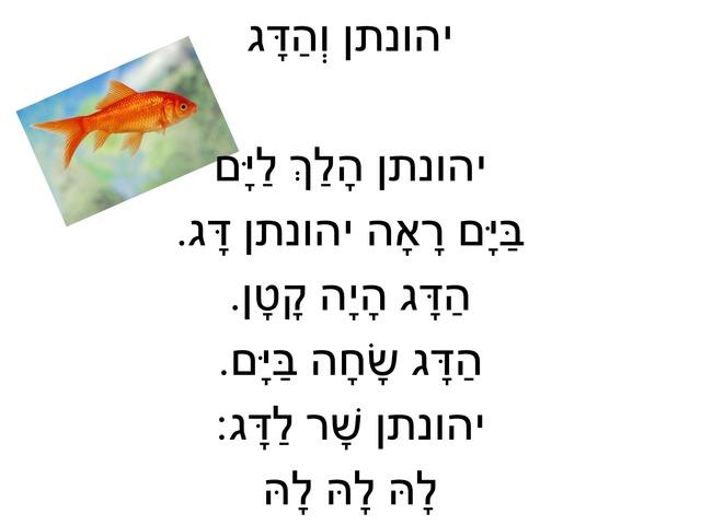 יהונתן והדג by שירה ניאזוב