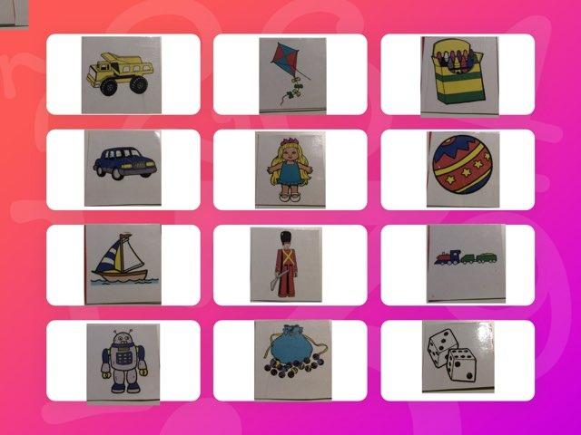 Lettergrepen Samenvoegen: Speelgoed by Rebecca Beckers