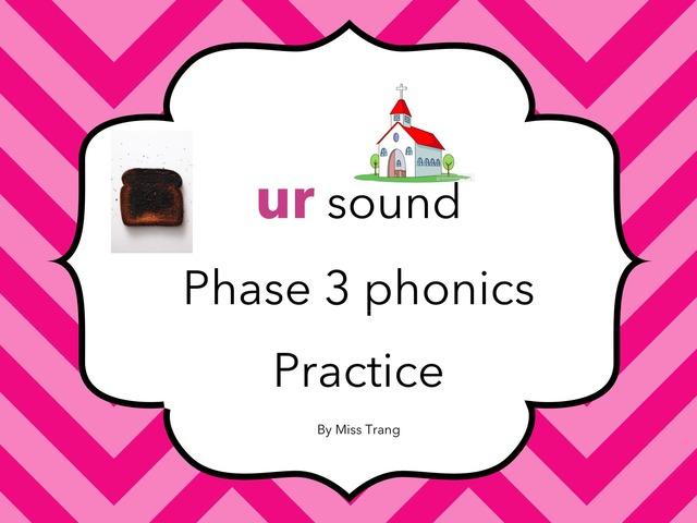 Ur sound Practice by Trang Quỳnh