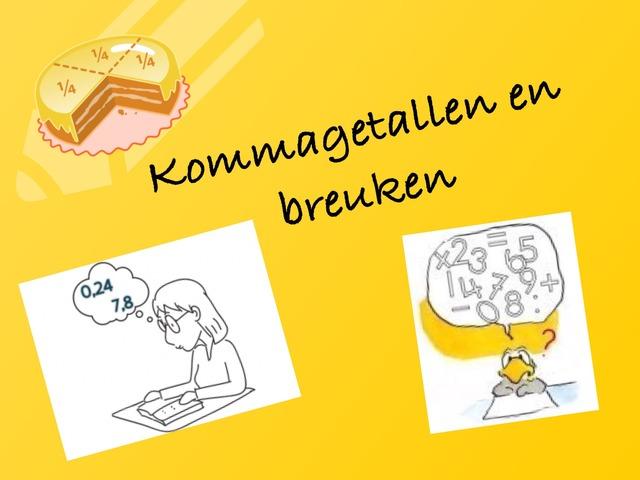 Kommagetallen en breuken by Stedelijke Basisschool Hasselt