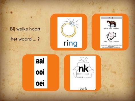 Spelling - ng/nk/td/aaiooioei by Linda Bekedam