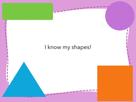 Shapes by Hannah Elwood