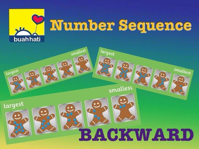 Number Sequence (Backward) by Gundala Petir