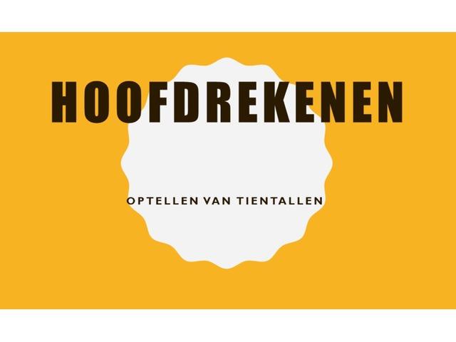 Optellen Van Tientallen  by Stefanie Rigolle