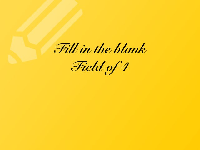 Fill In The Blank IV8 by Bella Gomez