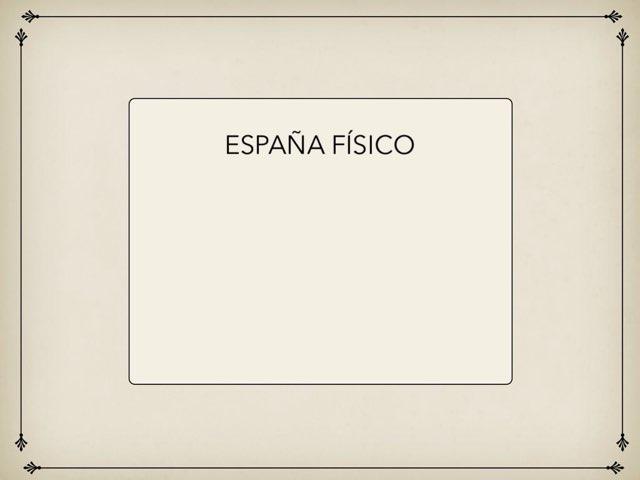 España Físico by Eva Diaz