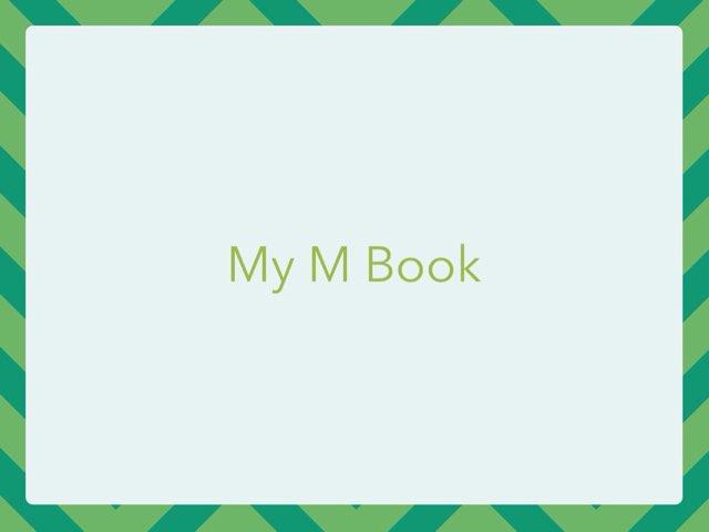 The M Activity Book by Karen Richtarik