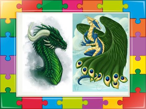 Dragon Puzzle  by Liat Bitton-paz