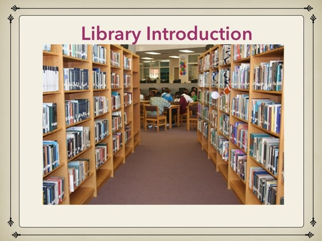 Library Introduction by David Schrag