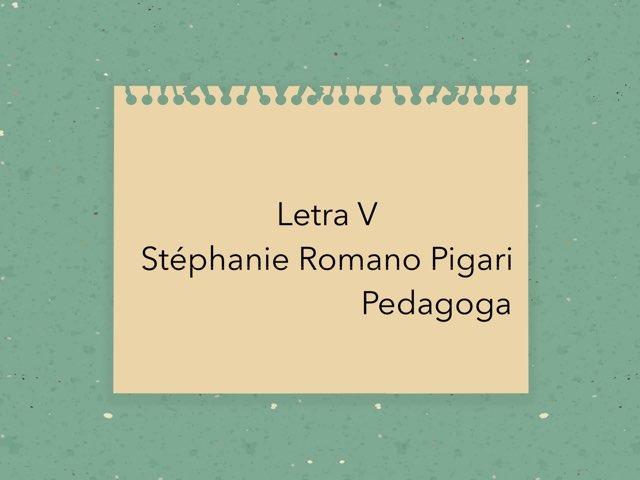 Jogo Do V by Stephanie Romano Pigari