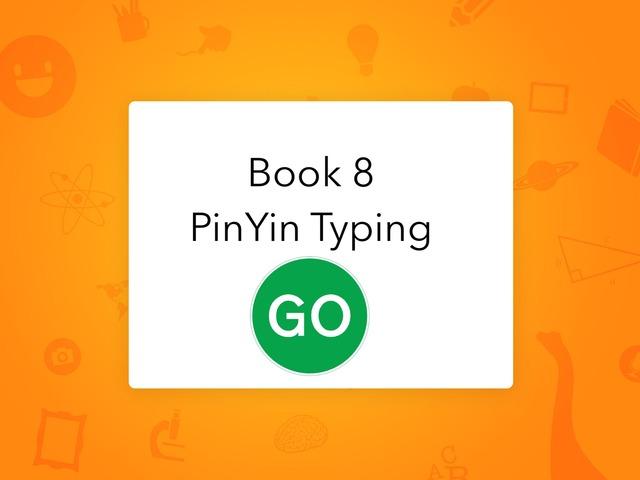 Book 8 lesson 1 PinYin by Union Mandarin 克