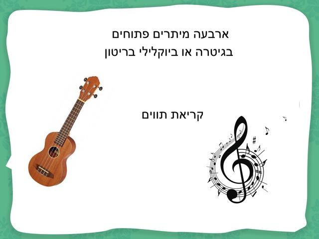 מיתרים פתוחים by Yael Eilat
