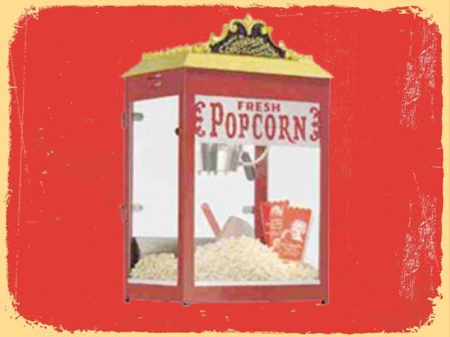 Kinder Popcorn Words by Timothy Teelin
