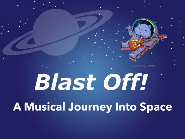 Blast Off!  Rhythms In Space by A. DePasquale