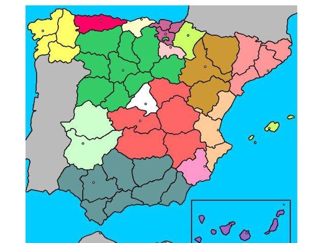 Mapa Provincias by David Pazos Lago