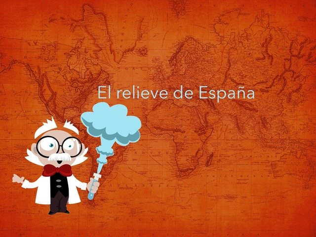 El Relieve De España by Valeria Polo