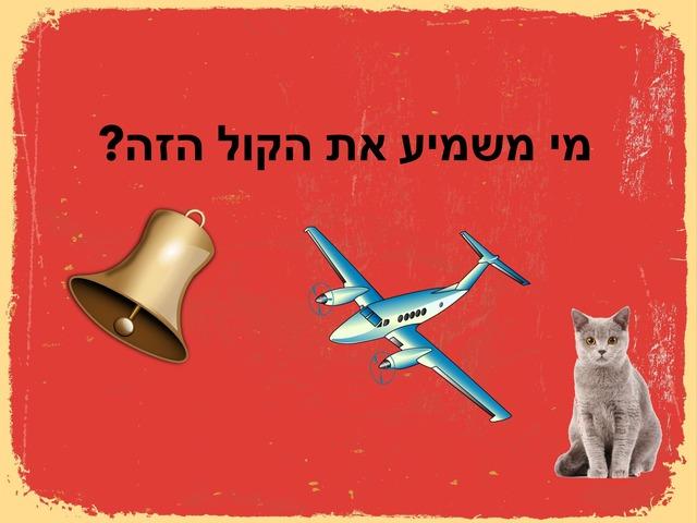מה משמיע את הקול by Yael Eilat
