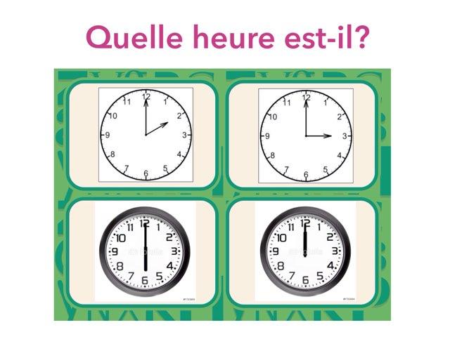 Quelle heure est-il? by Médiathèque 4 AFKL