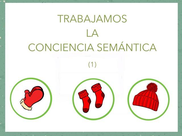 Trabajamos La Conciencia Semántica  by Zoila Masaveu