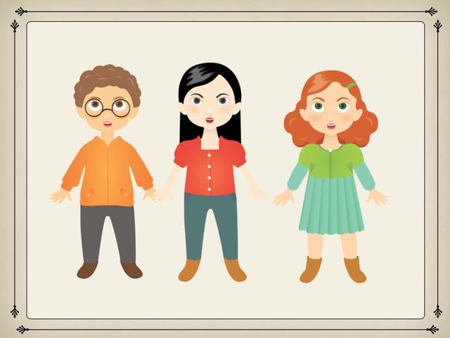 פאזל שלושה ילדים by מרחב אינטראקטיבי
