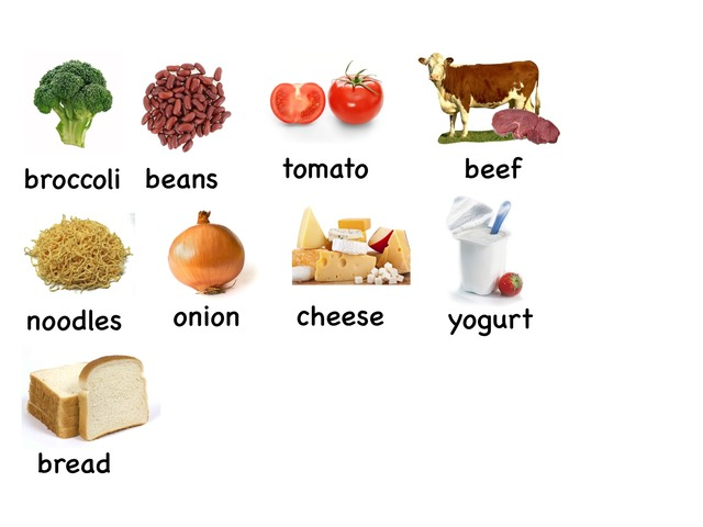 Food Words 2 by Rebecca Jarvis