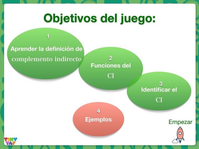 El complemento indirecto by Oscar Roncero