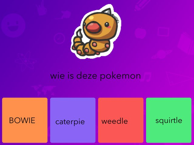 pokemon quiz by luke struik