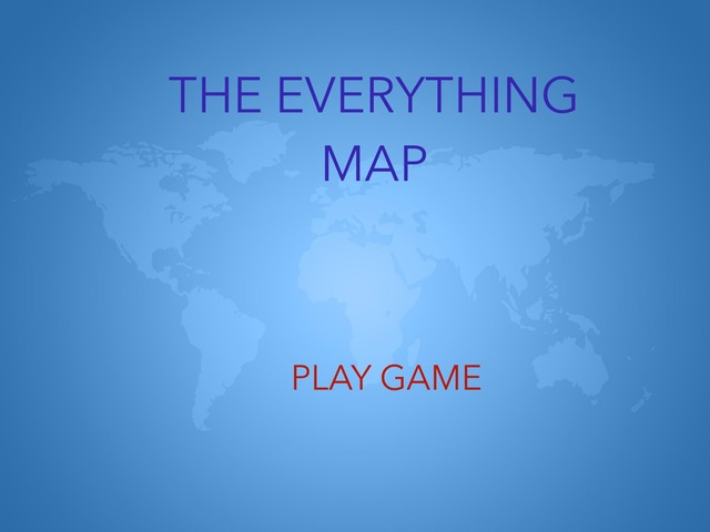 The Everything Map by Allene Anabelle Lukito