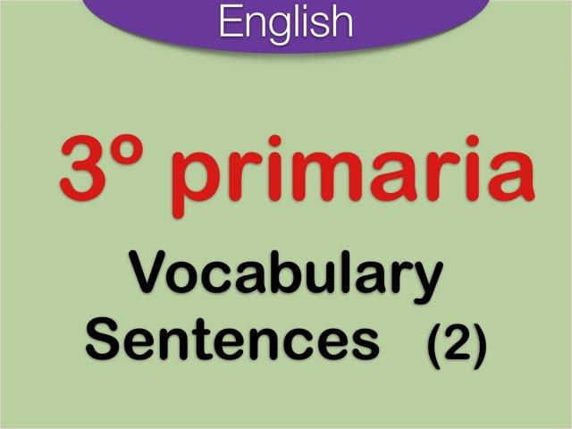 Sentences Vocabulary English by Elysia Edu