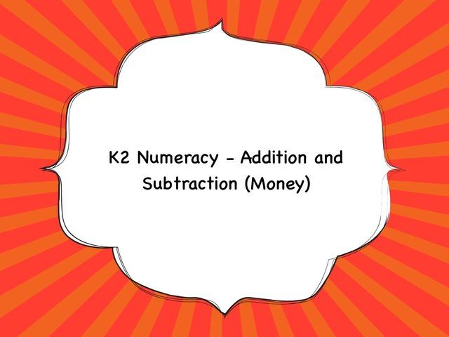 Numeracy k2 by Sherlyn Gan