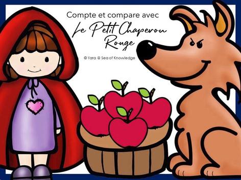 Compte et compare avec Le Petit Chaperon Rouge by Yara Habanbou