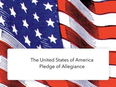 United States: Pledge  by Carol Smith