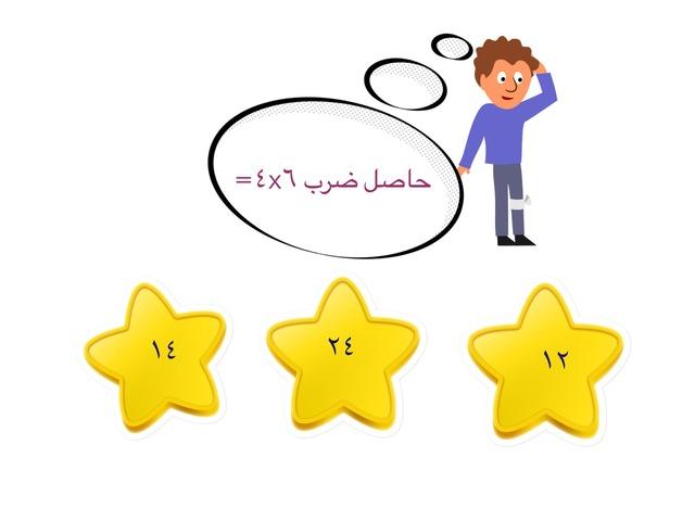 جدول الضرب طالبات الصف السادس  by جوهرة العلياني