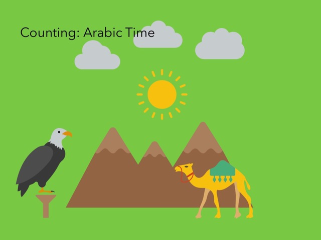 Counting: Arabic Time by Carol Smith