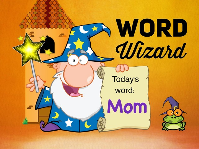 Word Wizard - Mom 3-4yr by Ellen Weber